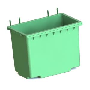 Бак мусорный пластмассовый