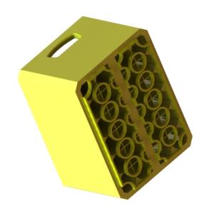 Ящик пластмассовый пивной