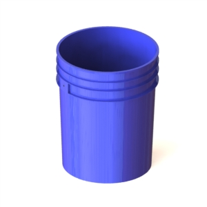 Ведро 20-литровое пластмассовое